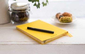 フランス語,手帳,勉強,記入,書く