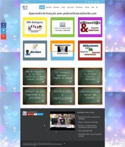 Podcast Francais facile,無料オンラインサイト,フランス語