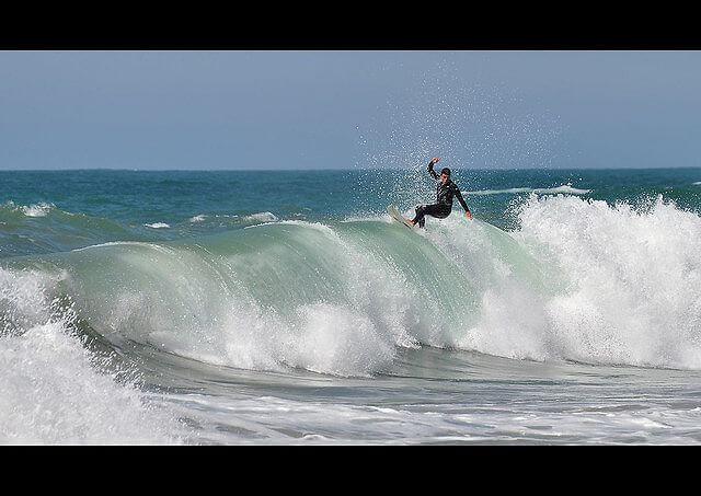 ビアリッツサーフィンのメッカ